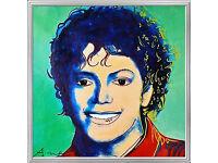 MICHAEL JACKSON artwork by ANDY WARHOL!
