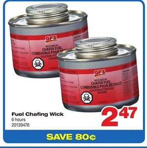 Brand New Case of Wick Chafing Fuel - CHEAP!