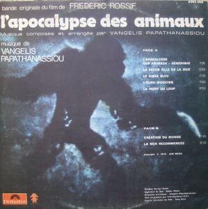 Vangelis Papathanassiou – L'Apocalypse Des Animaux 1975 West Island Greater Montréal image 2