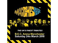 4 tickets to Madchester, Saturday 24th March at the BEC Arena
