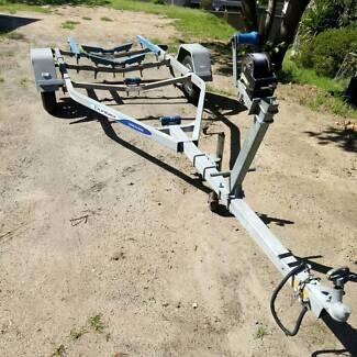 4.7c Dunbier boat trailer for sale suits boats 4-5m...