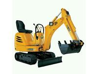 WANTED MINI DIGGER AND DRIVER WANTED