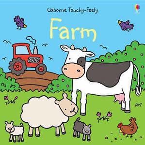 Touchy-feely Farm (Luxury Touchy-feely), Fiona Watt | Board book Book | Good | 9