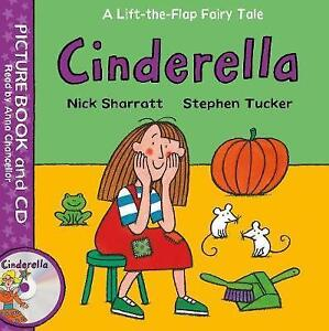 Cinderella (Lift-the-flap Fairy Tales) by Tucker, Stephen | Paperback Book | 978