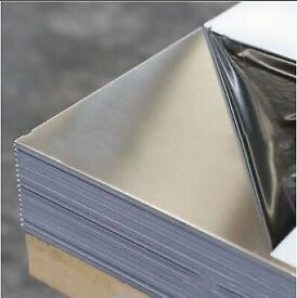 Stainless Steel Wall Cladding Sheets 8x4x0.7 brushed