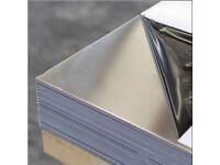 Stainless steel sheet metal cladding