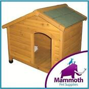 Large Timber Dog Kennel