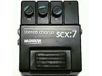 Washburn chorus effects pedal