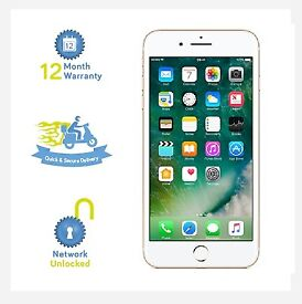 Iphone 7 32g gold, new and unlocked to all networks