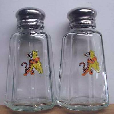 A Very Nice Set Winnie The Pooh & Tigger Salt & Pepper Shakers