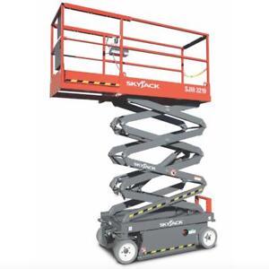 Scissor Lift Rentals - FREE DELIVERY & PICK UP !!!