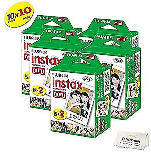 Fujifilm instax mini film 20x5. 100 exposures
