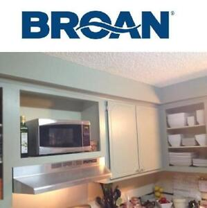 "NEW BROAN SS 30"" RANGE HOOD - 124469257 - 30 in. Non-Vented - Stainless Steel"