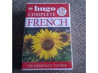 Brand New Sealed Hugo Complete French Language Course - Beginners and Advanced (Books & CDs)