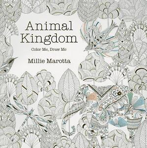Image Is Loading Animal Kingdom Color Me Draw A Millie