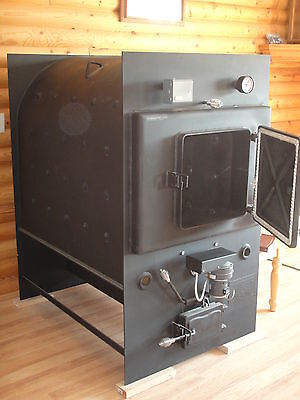 Indoor Wood Furnace Boiler Royall Maquette 6250