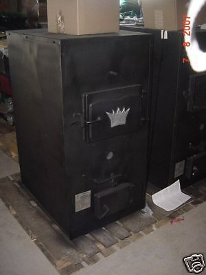 Indoor Wood Furnace Boiler Royall Prototype 6150