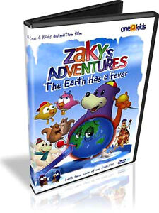 Islamic Children's DVD. Zaky and Friends Collection. 7 DVDs.