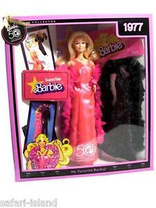 Mattel - Barbie - 50th Anniversary Doll 1977 Superstar