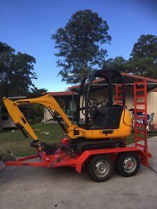 Mini Excavator Hire $175 per day Nerang Gold Coast West Preview