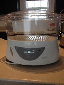 RIVAL rice and vegetable steamer