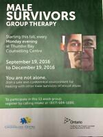 Therapy Group for Male Survivors of Sexual Abuse
