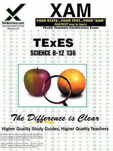 TExES Science 8-12 136 Teacher Certification Test Prep Study Guide (XAM TEXES) 2