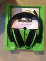 Turtle beach Xbox 360 headset with microphone