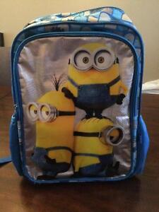 Lunch bag and school bag