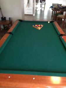 Professional sized pool table