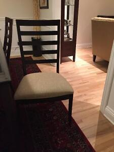 6 Dining room chairs