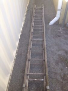 Wooden extension ladder Albany Albany Area Preview