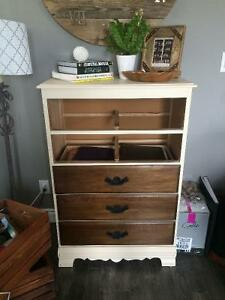 Refurbished rustic dresser