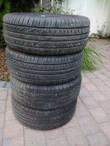 "Like New Champiro 15"" All season tires"