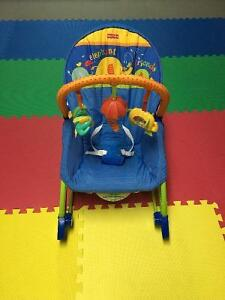 Chaise vibrante Fisher Price calming vibrations