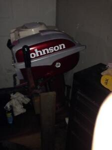 1956 15hp Johnson outboard