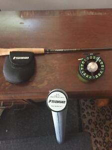 Sage approach fly fishing rod and sage 2250 reel