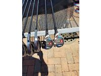 NEW Cobra King Rad Speed One Length Rescues and Irons