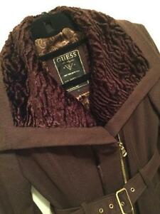 GUESS COAT with gorgeous colar Kitchener / Waterloo Kitchener Area image 2