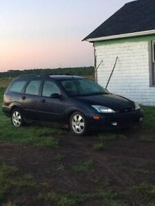 2002 Ford Focus Wagon for parts