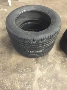 For Sale 2 used Michelin Latitude tires 255-60-19