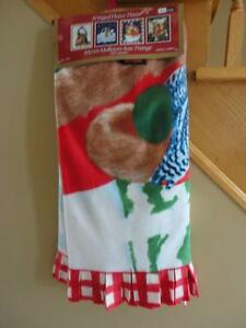 Brand new with tags holiday printed fleece throw blanket