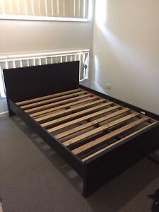 Double bed frame and mattress Warner Pine Rivers Area Preview