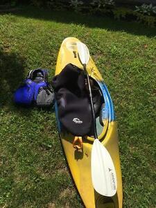 Kayak eau vive + équipement