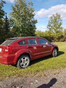 2007 Dodge Caliber Red SUV, Crossover