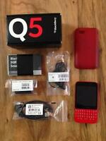 Blackberry Q5 for Virgin mobile - $120