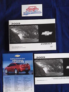 Wanted 2009 Chevrolet Cobalt Owner's Manual And  Brochure