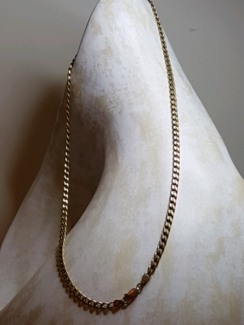 Unisex 9ct yellow gold necklace