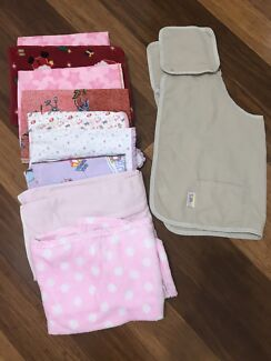 Baby girls muslin wraps blankets and breastfeeding wraps nursing cover