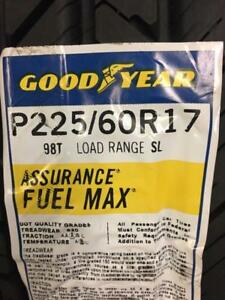 4 Brand New Goodyear Assurance Fuel Max 225/60R17 *** WallToWallTires,com ***